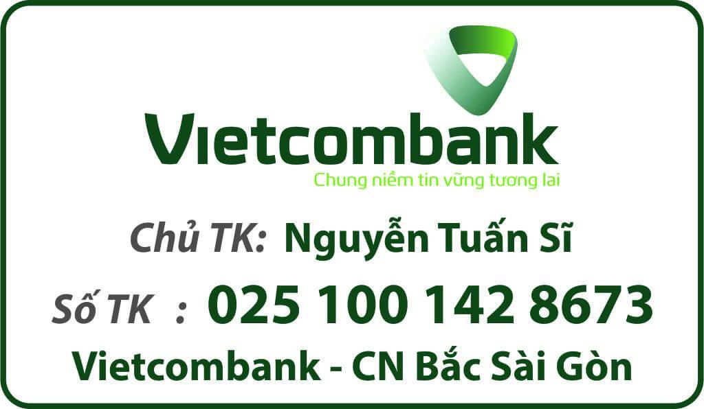 thông tin tài khoản vietcombank